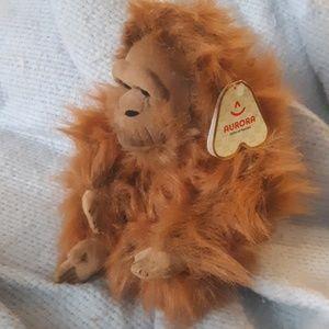 Aurora Accents - Adorable Huggable Orangutan Ape Monkey